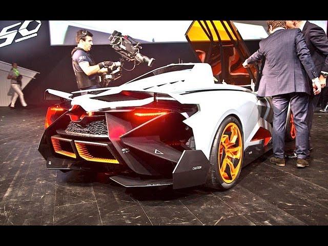 Lamborghini Egoista Sound Start Up And Revs 1 Of You