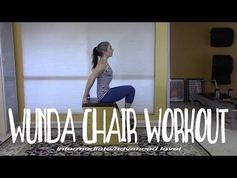 Pilates Wunda Chair workout Intermediate Level