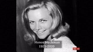 Honor Blackman Passes Away  1925 -2020   Uk  - Bbc News - 7th April 2020