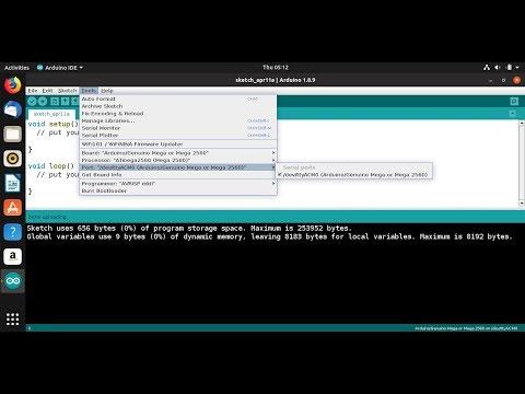 Add Serial Port Permission To User, On Ubuntu Linux.