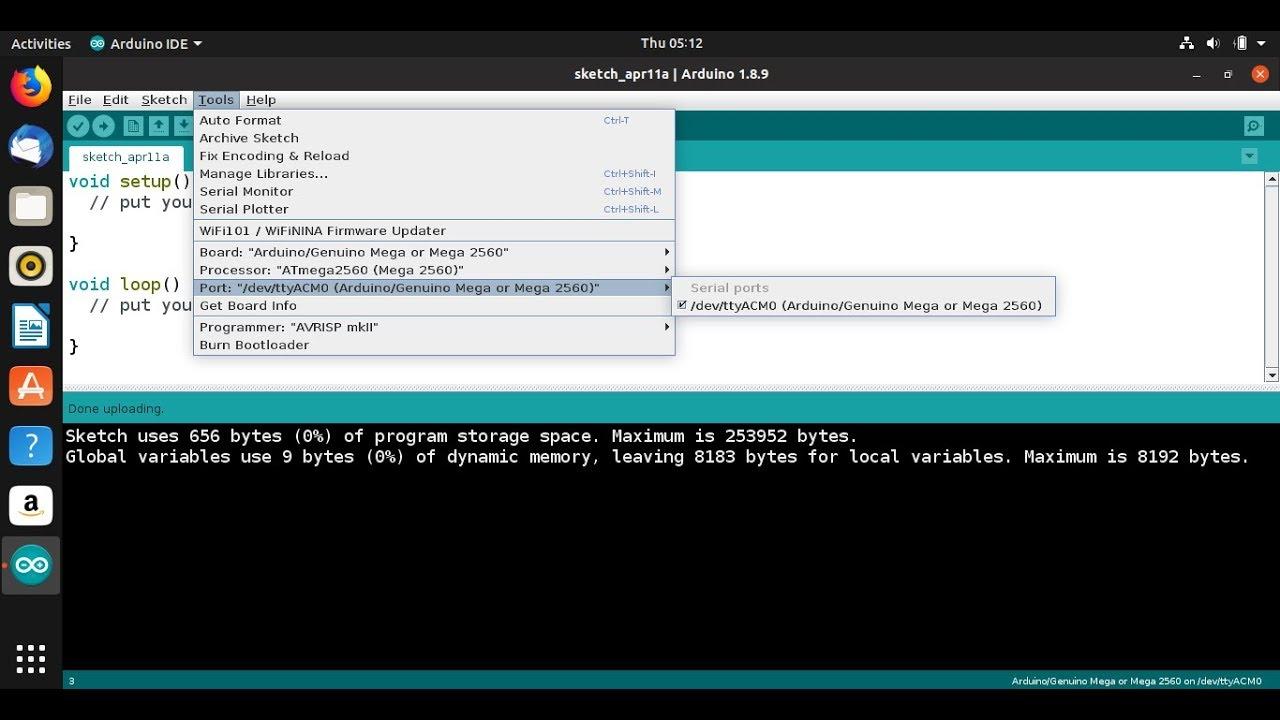 Add serial port permission to user, on Ubuntu Linux