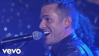 The Killers - Smile Like You Mean It (Live On Letterman)