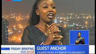 Ivyn Mutua switched from Gospel to secular music | GUEST ANCHOR