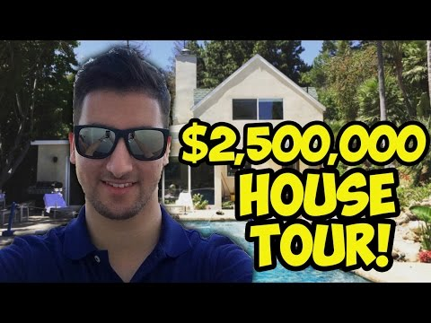$2,500,000 BEVERLY HILLS HOUSE TOUR! (MrDalekJD VLOG)