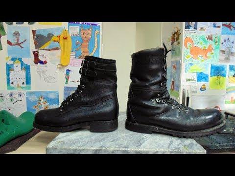 Австрийские ботинки Эдельвейс vs. Ботинки горных стрелков СССР