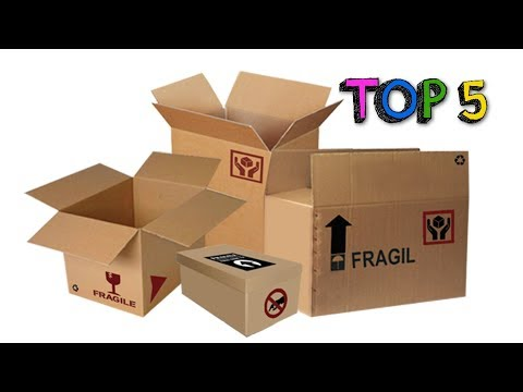 TOP 5 AWESOME CRAFTS made with cardboard BOXES - the most AMAZING DIY you've ever seen - Mr. DIY