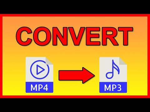 How To Convert Any Video File To MP3 Audio - Tutorial