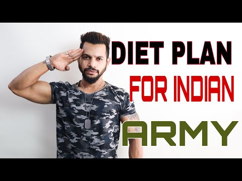 DIET PLAN INDIAN ARMY | HINDI | ANI RAY