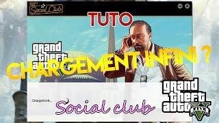 GTA V PC | Bug chargement infini social club [TUTO]| Clemeoki [FR] | HD