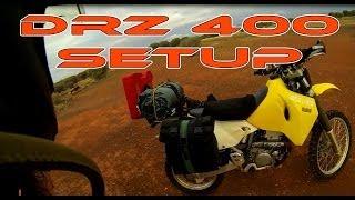 DRZ 400 Adventure Setup