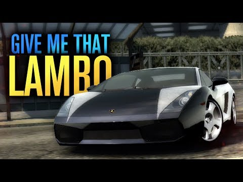 GIVE ME THAT LAMBORGHINI!!! |  Need for Speed Most Wanted Let's Play #19