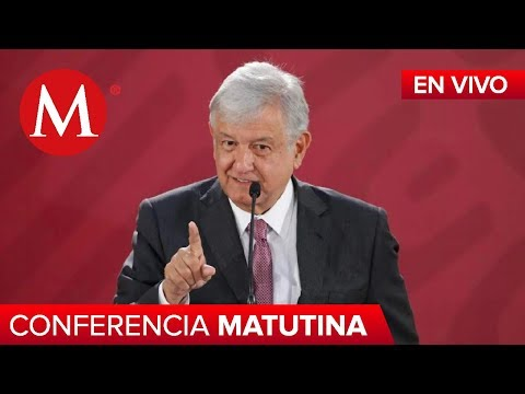 Conferencia Matutina de AMLO, 23 de octubre de 2019