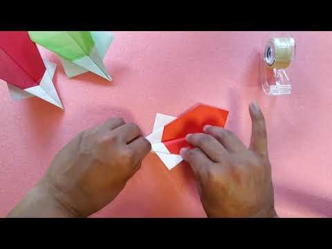 Origami Pesawat Sederhana Lv. 10