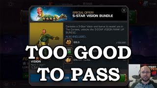 5-Star Vision Offer - I Couldn't Resist | Marvel Contest of Champions