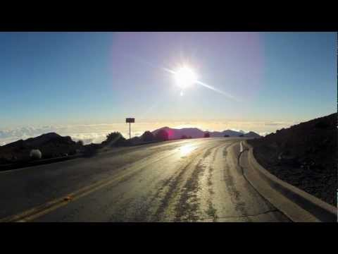 Drive of the Sun (time-lapse drive in Maui)