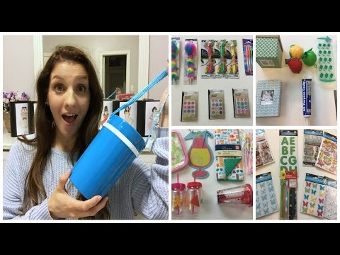 DOLLAR TREE HAUL | SUMMER COLLECTION 2017 pt 1
