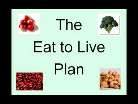 how to eat to live youtube
