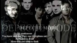 a-ha - A Question of Lust live in BBC 2 radio (With Lyrics)).....original song by Depeche Mode