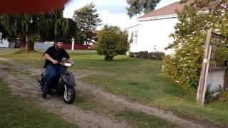 Suzuki Let's II Tuning Yard Test