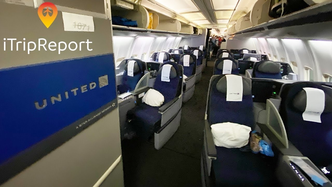 NEW INTERIOR United 757-200 Transcontinental Business Class Trip Report