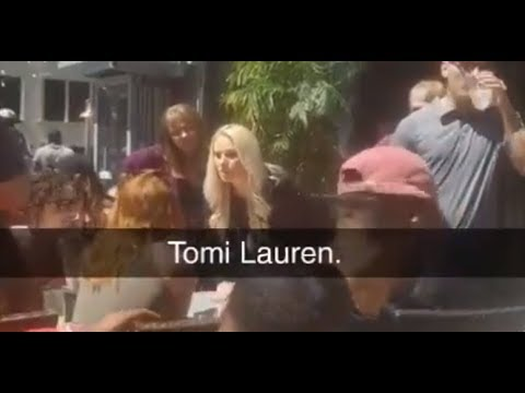 Tomi Lahren gets water thrown in her face by crazed liberal