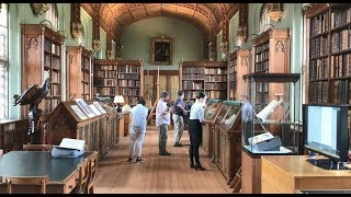 Cambridge's Venerable and Inspiring Parker Library