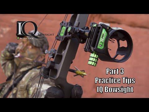 IQ Bowsights Pro Tip From Tom Miranda - Practice!