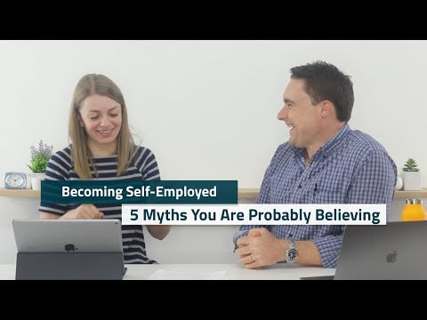Is Self Employment for YOU? | 5 myths about being self employed  (Facebook Live)