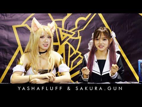 Sakura.Gun X Yashafluff Q&A At ANIME Impulse 2019!