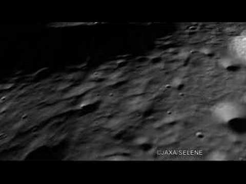 3D images of South Pole of the Moon by TC /Kaguya かぐや:月面3D動画