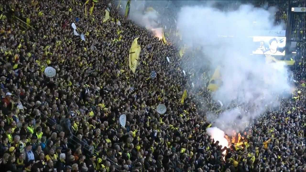 BVB vs Gladbach 1-0 Meistertore Deutscher Meister 2012 Borussia Dortmund
