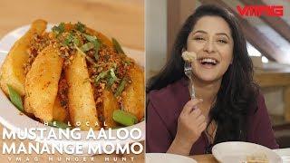 Mustang Aaloo and Manange Momo at The Local