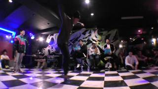 Y・A vs ZOMA ZAKLT preliminary / ZEROBOX vol.14 BBOY 2on2 DANCE BATTLE