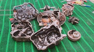 How To Disassemble CD-70 Honda Motorcycle Engine