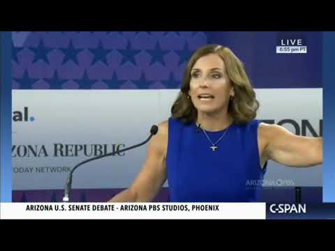 Garret Lewis - McSally Calls Out Sinema Over Her Taliban Statement