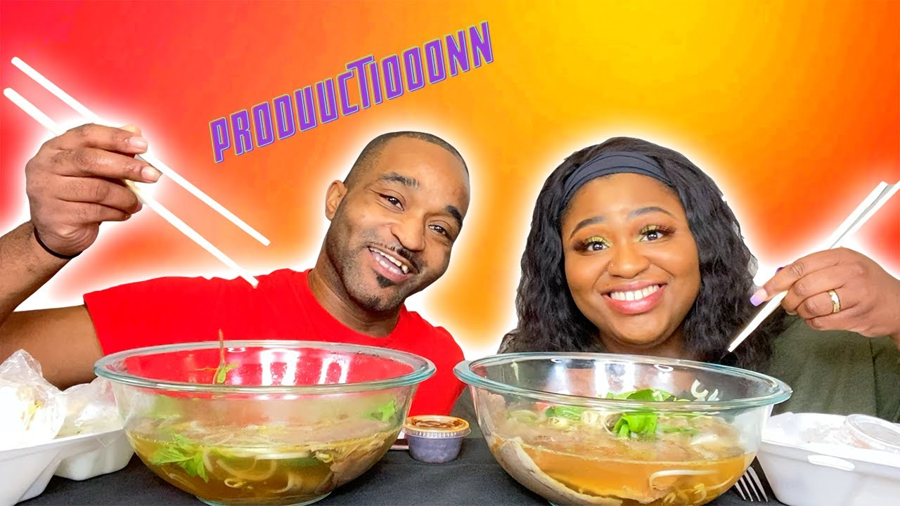 VIETNAMESE PHO MUKBANG!!!! COLLAB W/ PRODUCTION FROM @LLIPS !!! | EATING SHOW