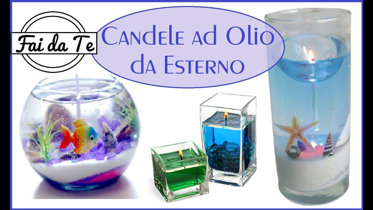 Candele ad olio per esterni fai da te diy oil candle for Casette per conigli fai da te