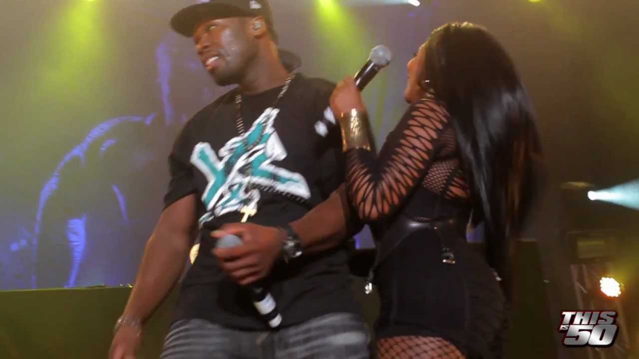 OH MY!!  Lil Kim Claps Back At 50 Cent 'GET OFF MY P***Y CURTIS'  [VIDEO]