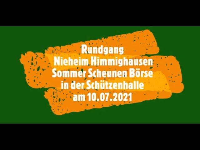 Rundgang Nieheim Himmighausen Sommer Scheunen Börse