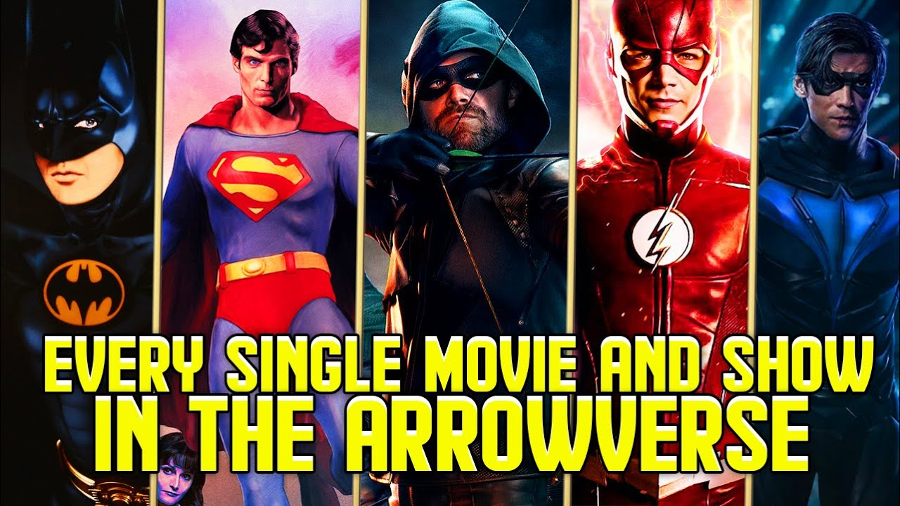 Download Every TV Show and Movie in the Arrowverse Multiverse as of Crisis on Infinite Earths