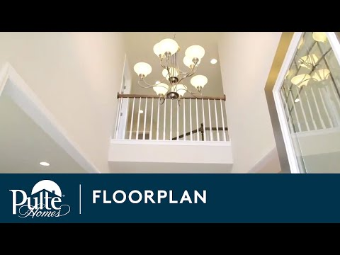 New Homes by Pulte Homes – Woodside Floorplan