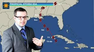 Tropical Storm Ida Update Aug 27, 2021