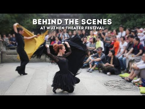 Live: Behind the scenes at Wuzhen Theater Festival古镇变舞台,戏剧嘉年华