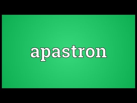 Header of apastron
