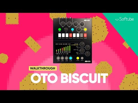 OTO Biscuit 8-bit Effects plug-in Walkthrough with Todd Urban – Softube