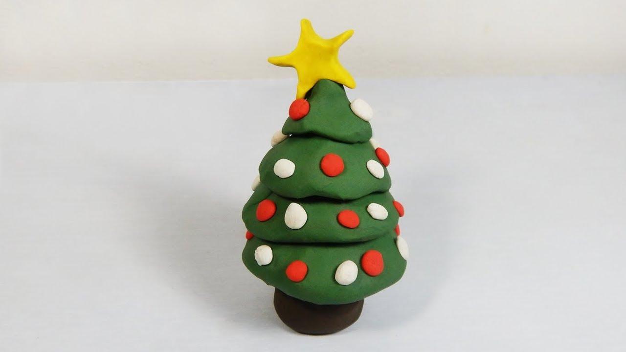 Cómo Hacer Un Arbolito De Navidad De Plastilina Paso A Paso Fácil Explicado Youtube