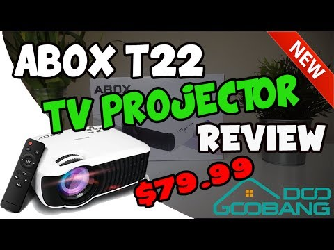 TV PROJECTOR REVIEW - HOME THEATER UNDER £80!!!!!!!!!!!!!!