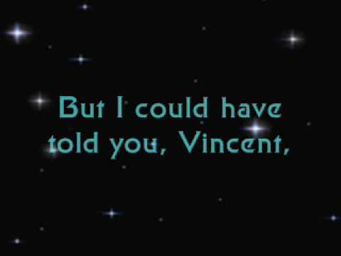 Vincent (Stary Stary Night)