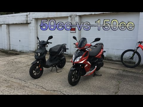 50cc Vs 150cc Scooter. Which One To Buy?
