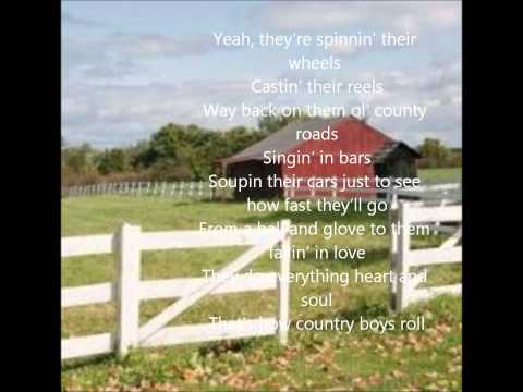 Thats How Country Boys Roll- Billy Currington (Lyrics)